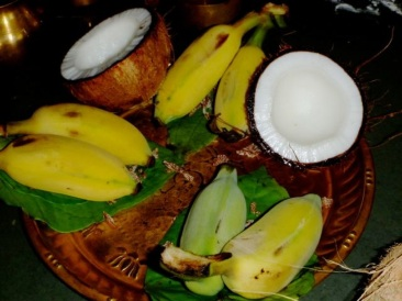 10.Coconut and Banana