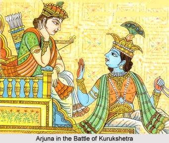 Arjuna_in_the_Battle_of_Kurukshetra